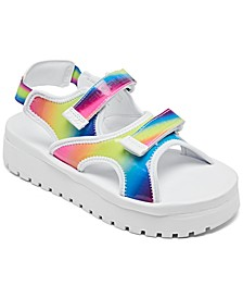 Little Girls Fila Spot EVA Stay-Put Casual Sandals From Finish Line
