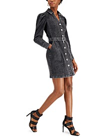 Denim Belted Dress, Created for Macy's