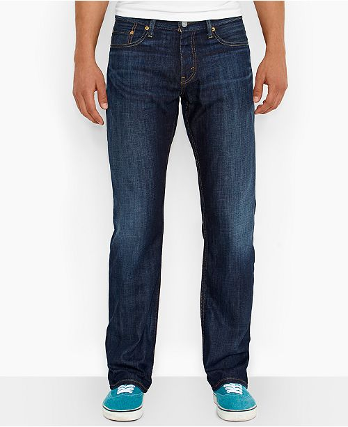 788d1bbab6f Levi's Men's 514 Straight Fit Jeans & Reviews - Jeans - Men - Macy's