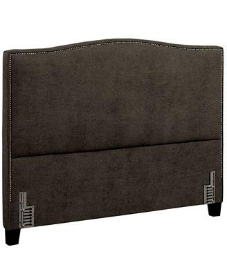 cory queen headboard  furniture  macy's, Headboard designs