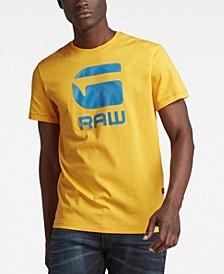 Men's Flock Hamburger Logo T-Shirt