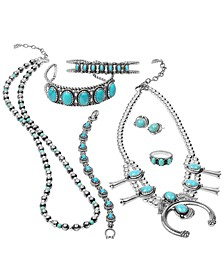 Sterling Silver and Turquoise Jewelry Collection