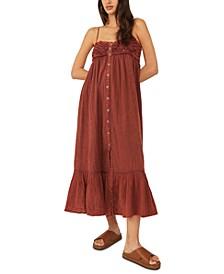 Linda Jo Cotton Midi Dress