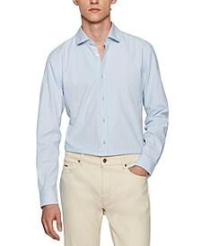 BOSS Men's Slim-Fit Oxford Cotton Shirt