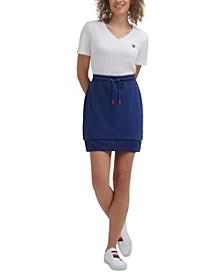 Women's Mesh-Hem Skirt