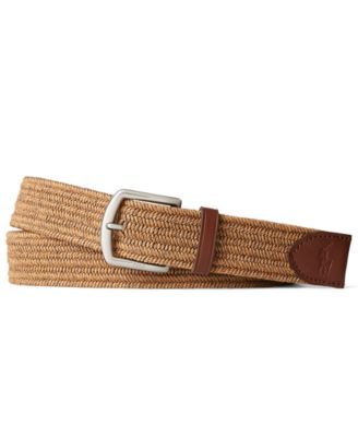 폴로 랄프로렌 Polo Ralph Lauren Mens Stretch Waxed Cotton Belt