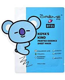 BT21 Koya's Kind Printed Essence Sheet Mask, 3-Pk.