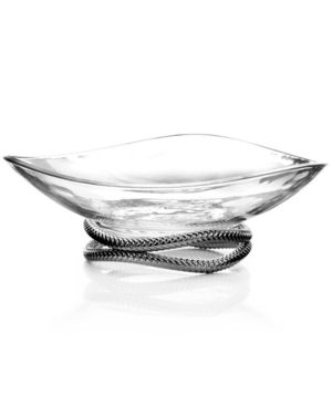 Nambe Braid Serving Bowl