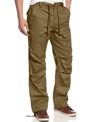 Sean John Men's Pleat Pocket Flight Cargo Pants, Only at Macy's ...