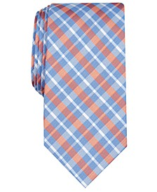 Men's Aubrey Slim Plaid Tie