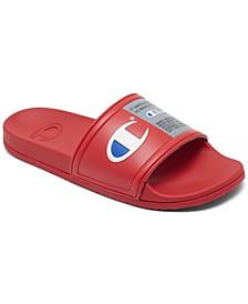 Men's Squish Logo Slide Sandals from Finish Line