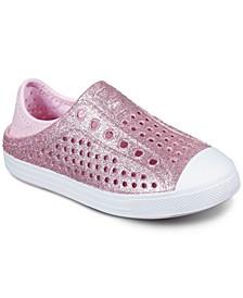 Little Girls Foamies - Guzman Steps Glitter Mist Casual Sneakers from Finish Line