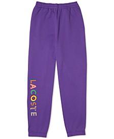 L!VE Embroidered Fleece Jogging Pants