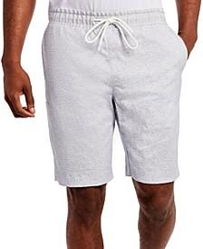 Men's Slim Fit Herringbone Shorts