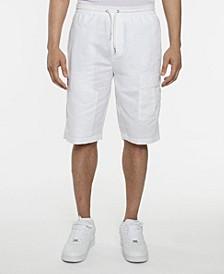 Men's Linen Utility Shorts