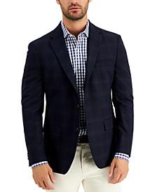Men's Modern-Fit Plaid Blazer