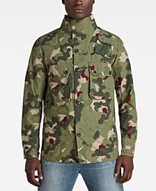 Men's Army Artwork Indoor Jacket