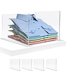 Shelf Dividers, Pack of 4