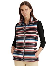 Southwestern Full-Zip Vest