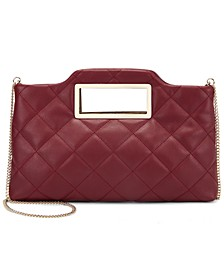 Juditth Quilted Handle Clutch, Created for Macy's