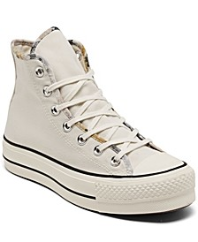 Women's Festival Platform Chuck Taylor All Star High Top Casual Sneakers from Finish Line