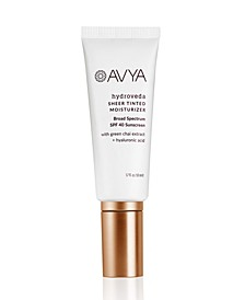 Hydroveda Sheer Tinted Moisturizer with SPF 40, 2 oz