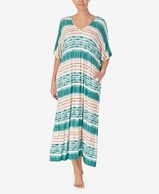 Women's Long Tie Dye Caftan