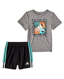 Baby Boys Speed T-shirt and Shorts Set, 2 Piece