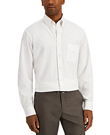 Men's Classic/Regular-Fit Non-Iron Performance Stretch Solid Dress Shirt, Created for Macy's