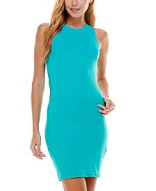Open Lace Back Bodycon Dress
