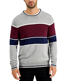 Men's Color Blocked Sweater, Created for Macy's