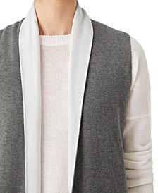 Long Colorblocked Vest