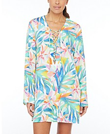 Wild Tropic Tunic Cover-Up
