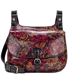 London Leather Saddle Bag