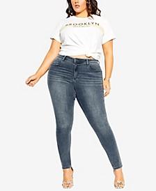 Plus Size Harley Lover Skinny Jeans