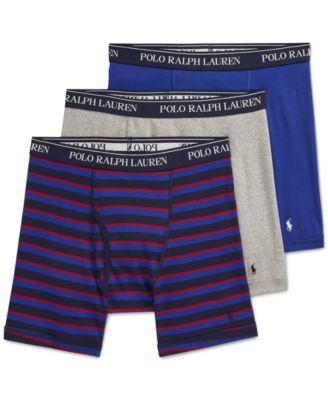 폴로 랄프로렌 Polo Ralph Lauren Cotton Boxer Briefs - 3-Pack
