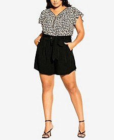 Plus Size Simply Bold Shorts
