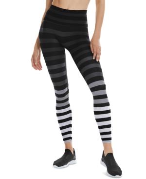 Women's Striped 7/8-Sneaker-Length Leggings