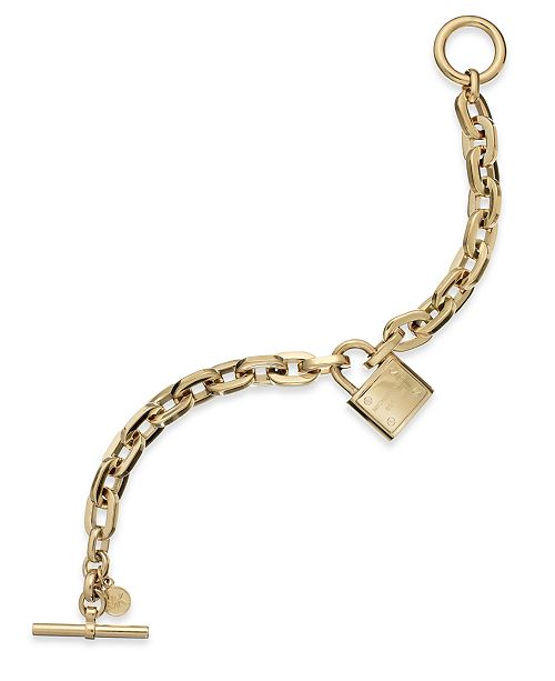 Michael Kors Chain And Logo Padlock Bracelet 15 Reviews Main Image