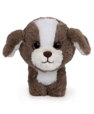 Gund Pet Shop Shih Tzu Puppy Dog Plush Stuffed Animal, Brown and White, 6