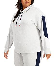 Plus Size Logo Cowlneck Sweatshirt