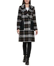 Plaid Walker Coat, Created for Macy's