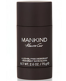 Kenneth Cole Men's MANKIND Deodorant, 2.6 oz.