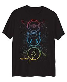 Big Boys Pikachu Electric Short Sleeve Graphic T-shirt