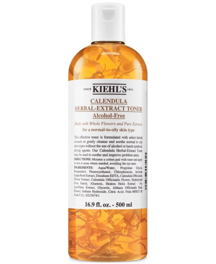 Kiehl's Since 1851 Calendula Herbal-Extract Alcohol-Free Toner, 4.2-oz. & Reviews - Makeup - Beauty - Macy's