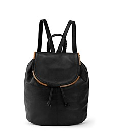 Small Huntley Leather Backpack