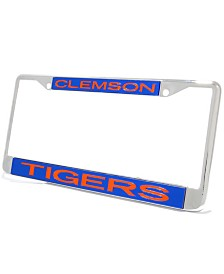 Stockdale Clemson Tigers Laser License Plate Frame
