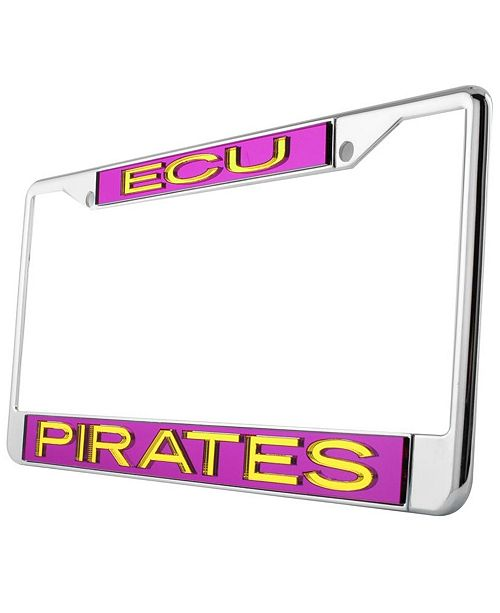 East Carolina Pirates Laser License Plate Frame