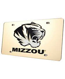 Stockdale Missouri Tigers License Plate