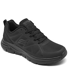 Men's Work: Arch Fit Slip-Resistant Axtell Work Sneakers from Finish Line
